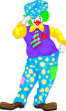 Clown cartoon Stock Image
