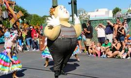 Clown character at Disneyworld Stock Images