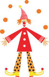 Clown  for children holiday Royalty Free Stock Photos