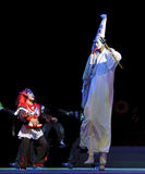 Clown of Chinese traditional opera Royalty Free Stock Photography