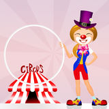 Clown in the circo Royalty Free Stock Image