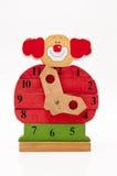 Clown clock Stock Image
