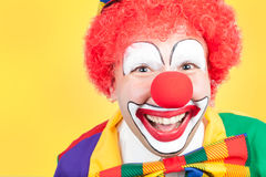 Clown close Stock Image