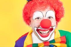 Clown close Stock Image
