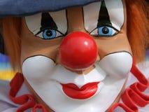 Clown coloré Images libres de droits