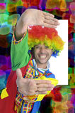 Clown colors Royalty Free Stock Photo