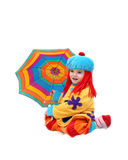 Clown in Costume Royalty Free Stock Photos