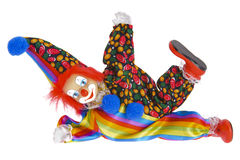 Clown with costume Royalty Free Stock Photo