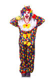 Clown in the costume Royalty Free Stock Photo