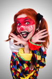 Clown in the costume  Royalty Free Stock Image