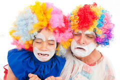 Clown Crying Stock Images