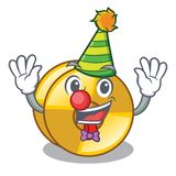 Clown cyamblas miniature in the cartoon shape. Vector illustration royalty free illustration