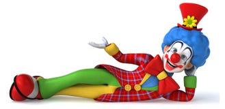 Clown d'amusement illustration libre de droits