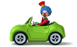 Clown d'amusement illustration stock