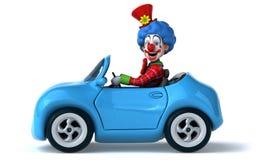 Clown d'amusement illustration stock