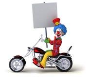 Clown d'amusement - illustration 3D illustration stock