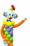 Clown de ballon Photo libre de droits