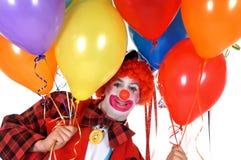 clown de célébration Images stock