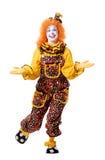 Clown de cirque Photo libre de droits