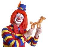 Clown de cirque Image libre de droits