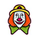 Clown de cirque Mascot Photographie stock