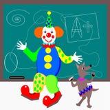 Clown de classe Photo libre de droits