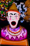 Clown de jeu de carnaval Images libres de droits