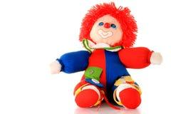 Clown de jouet Photos stock