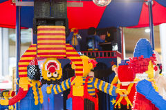 Clown de LEGO Photo libre de droits