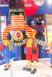 Clown de LEGO Photographie stock libre de droits