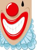 Clown de Smilling image stock