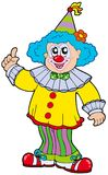 Clown de sourire drôle illustration libre de droits