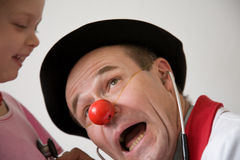Clown doctor Stock Photography