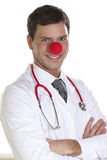 Clown Doctor Portrait Stock Photos