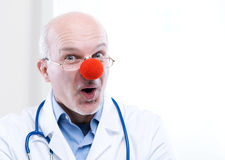 Clown doctor Royalty Free Stock Image