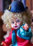 Clown Doll Royaltyfria Bilder