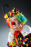 Clown drôle Photo stock