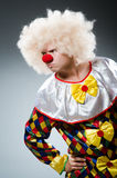 Clown drôle Photographie stock libre de droits