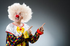 Clown drôle Images stock