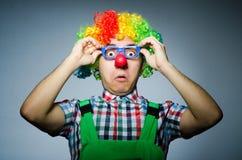 Clown drôle Photo libre de droits
