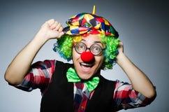 Clown drôle Photo stock
