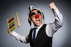 Clown drôle Photographie stock libre de droits