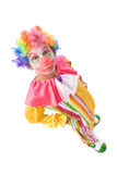 Clown drôle Images libres de droits