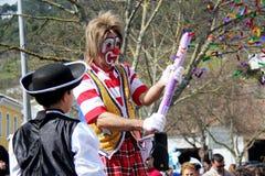 Clown entertaining Stock Photos