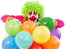 Clown espiègle drôle Image stock