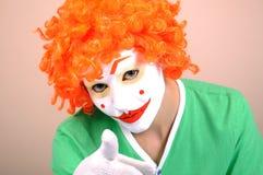 Clown féminin Photos stock