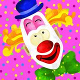 Clown face Royalty Free Stock Images