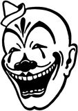 Clown Face Royalty Free Stock Photo