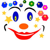 Clown Face Photos libres de droits