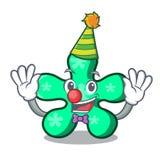 Clown free form mascot cartoon. Vector illustration royalty free illustration